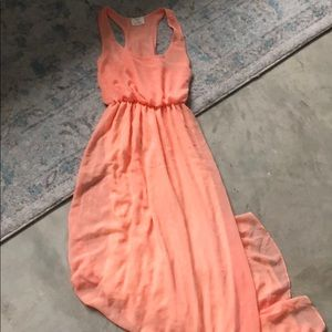NWOT Peach Urban Outfitters Maxi Dress